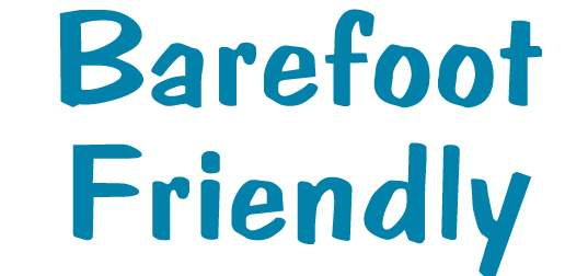 Barefoot Friendly Bumper Sticker