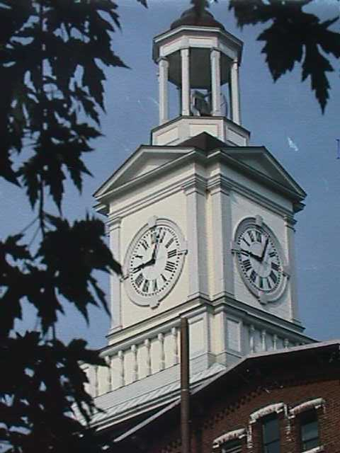 Digital Clock Tower